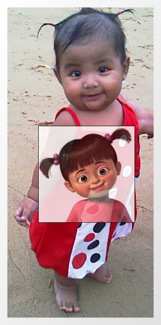 Aaliya as Boo...